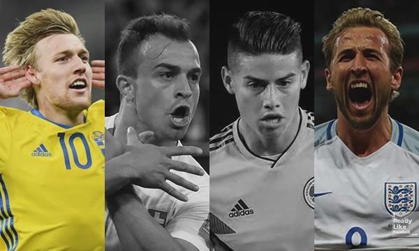ฟุตบอลโลก รัสเซีย 2018 รอบ 16 ทีมสุดท้าย E.P. 04 (สวีเดน, สวิตเซอร์แลนด์, โคลัมเบีย, อังกฤษ)