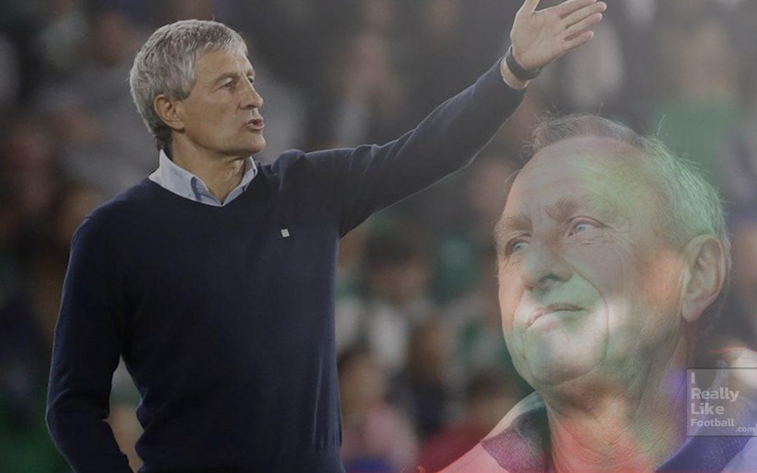 กีเก้ เซเตียน ผู้จัดการทีมคนใหม่บาร์เซโลน่า ผู้ศรัทธาในปรัชญาฟุตบอลแบบ โยฮัน ครัฟฟ์