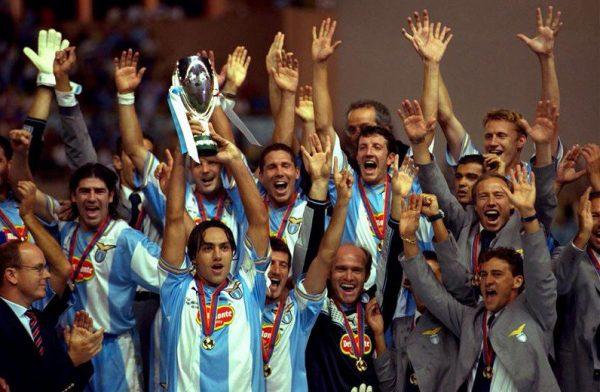 อหังการอินทรีย์ฟ้า-ขาว ลาซิโอ 1999-2000 ทีมสุดยอดของ สเวน โกรัน อีริคสัน